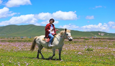 草原骑马1